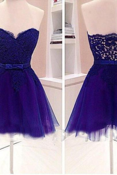 2017 Short Backless Sleeveless split Large size Homecoming Dress Short/Mini Sweetheart Tulle Dresses